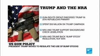 Florida high school shooting: Donald Trump and the NRA