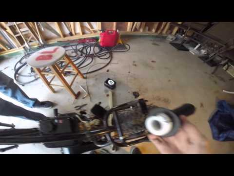 How to fix a throttle cable on a mini bike