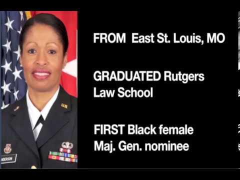 General Marcia Anderson [CNN STUDENT NEWS, transcript, 윤현우]