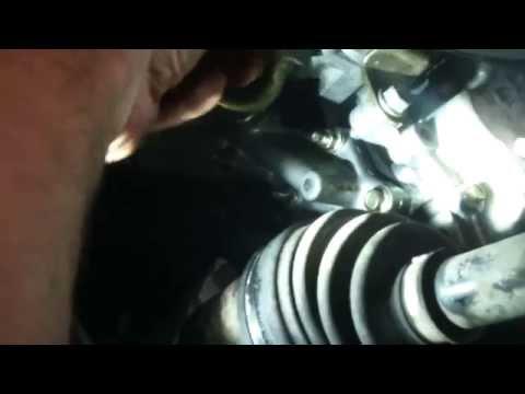 Oil cooler gasket replacement Nissan Altima 2.5L 2000 4 cylinder