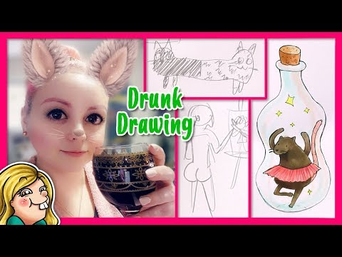 DRUNK DRAWING