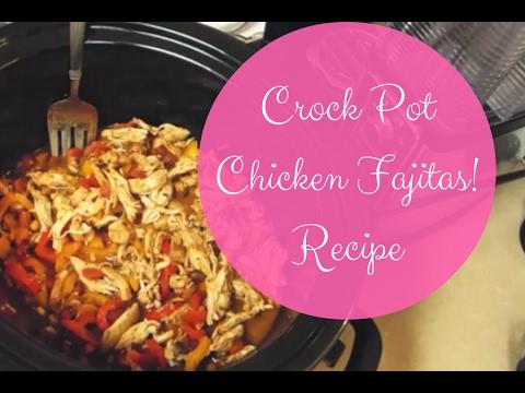 Crock Pot Chicken Fajitas {Cook with me!}
