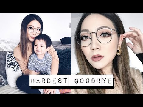GOODBYES ARE NEVER EASY | VLOG