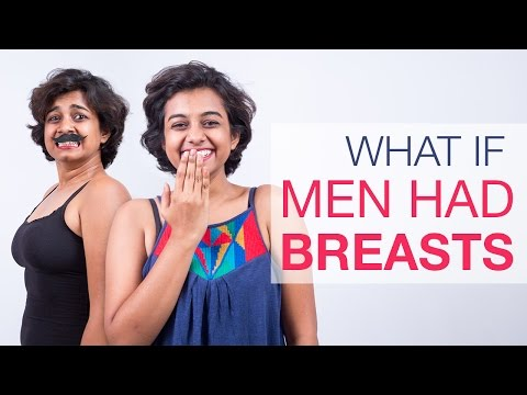 India Reacts: What if men had breasts?