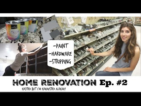 DIY Home Renovation Update #2 | Paint, Hardware, Stripping | Momma From Scratch