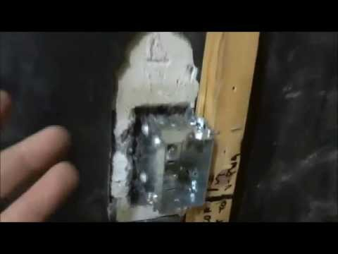 How To Mount An Electrical Box (PERFECTLY Flush With Drywall)