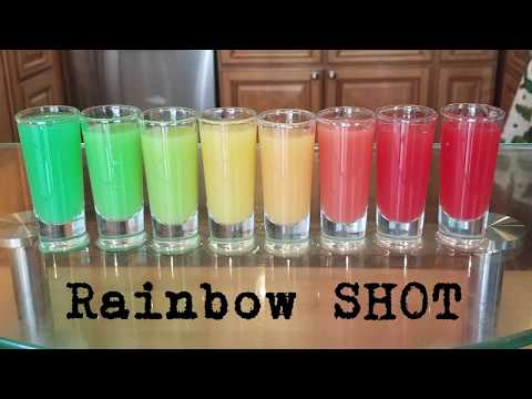 How to make the RAINBOW SHOT