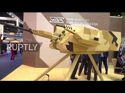UAE: Russia's UVZ showcase new remote-controlled weapons system in Abu Dhabi