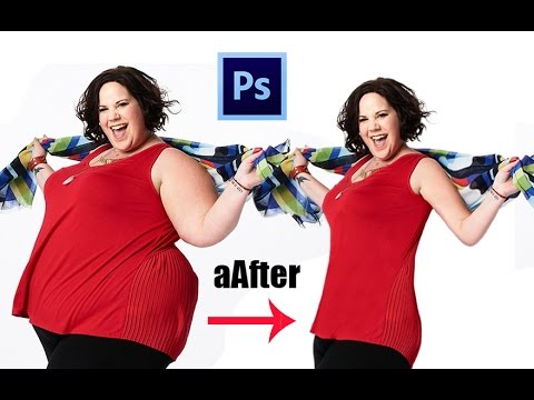 One Easy Step from FAT to Thin | Photoshop CC Tutorial