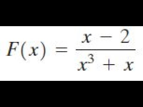 Find the domain of the function (x-2)/(x^3+x)