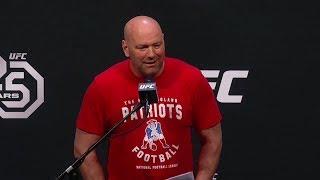 Dana White addresses Conor McGregor