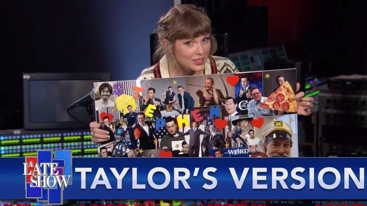 """Taylor Swift's Mood Board Proves """"Hey Stephen"""" Isn't About Stephen Colbert (Or Does It?)"""
