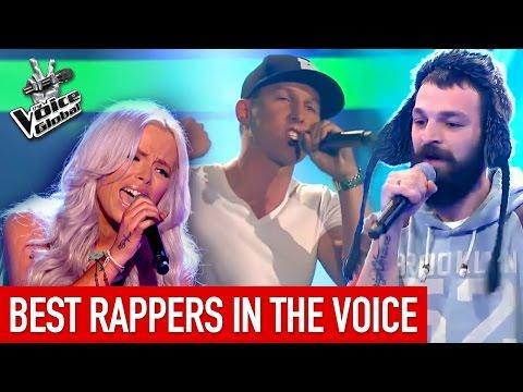 The Voice | BEST RAP Blind Auditions worldwide [PART 1]