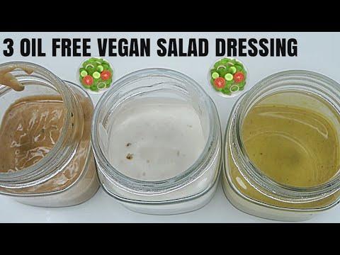 Oil Free Salad Dressing Vegan Healthy