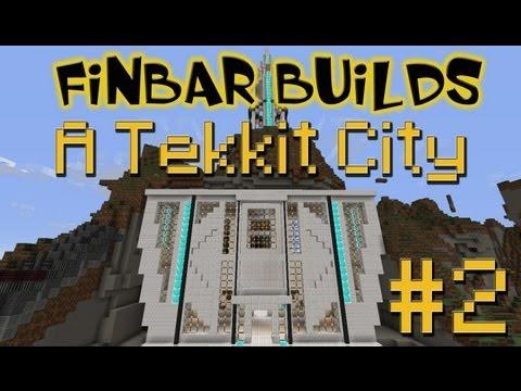 Lets Build A Minecraft Tekkit City - Part 2 - Awesome Council
