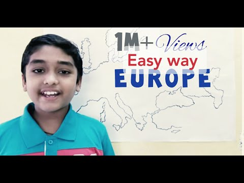 Countries of Europe Easy way to learn: Learn with Amar