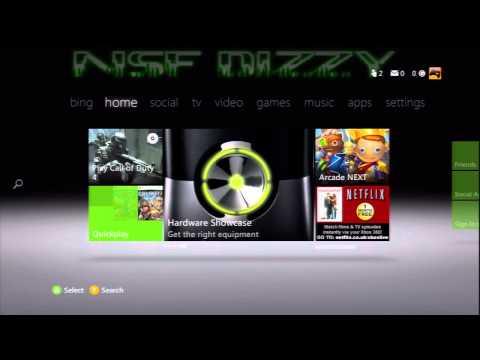 My New Custom Xbox360 Background,
