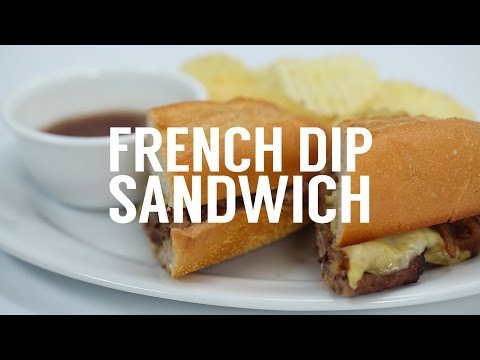 How to Make a Quick French Dip | Sandwich School
