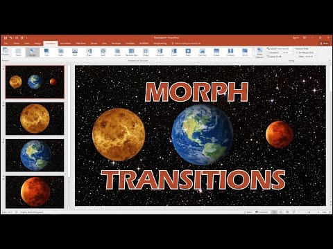 Use The Morph Animation Effect In PowerPoint