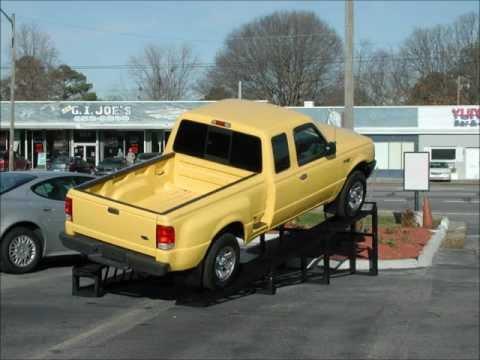Car Display Ramps 800-258-9010