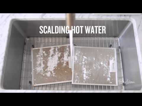 How to Clean Your Oven Hood