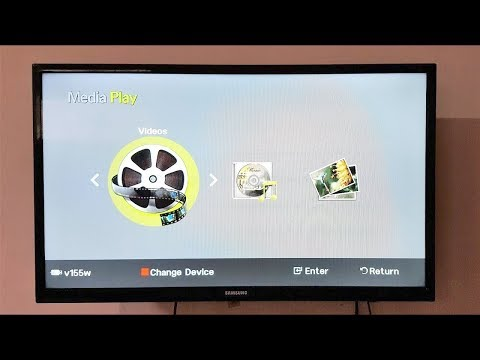 How to connect USB Pen Drive to LED TV and Watch Videos, Music and Pictures