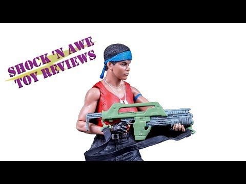 NECA Alien Day Kenner Vasquez Review - SHOCK 'N AWE TOY REVIEWS