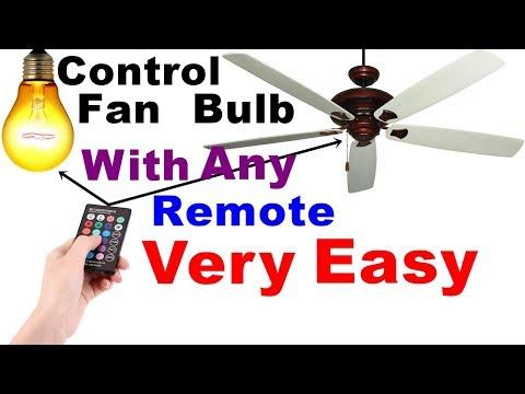 Ghar ke Fan, Bulb ko kisi bhi remote se on/off kare   Remote Control for Multiple Home Appliances