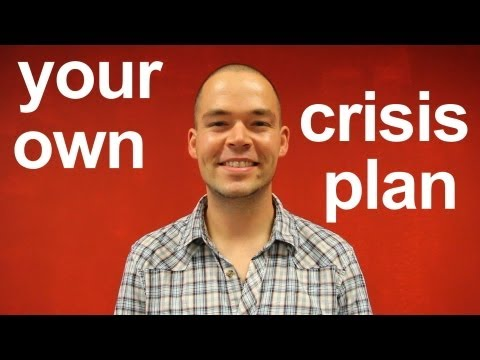 How to make a Crisis Plan