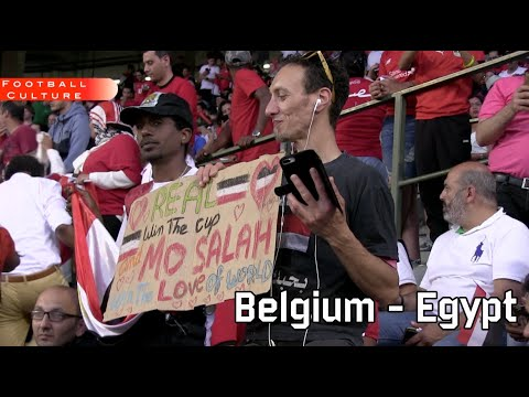 Belgium - Egypt (pre World Cup 2018 friendly)