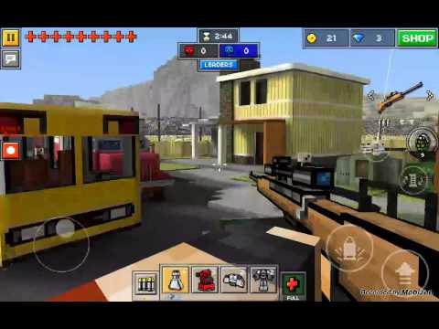 Pixelgun3D  let's play ep 1: MECHAS  OP