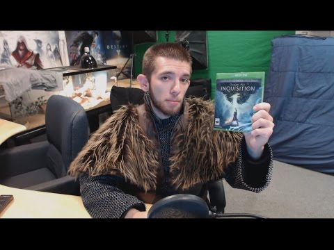 Dragon Age Inquisition Deluxe Edition Unboxing
