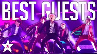 TOP 5 GUESTS On America's Got Talent! Including One Direction, BTS And MORE   Got Talent Global