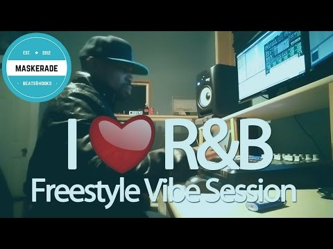 Making R&B Beats | Freestyle Vibe Session