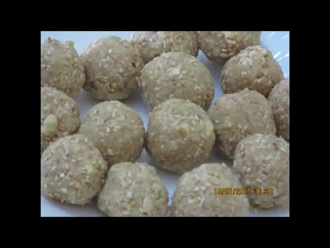 HOW TO MAKE SOFT TIL KE LADOO IN 6 MINUTES... NO COOKING... VERY SOFT