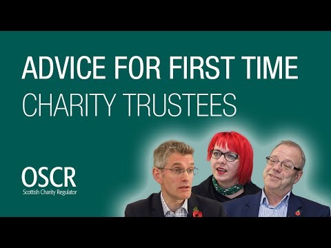 Advice for first time charity trustees