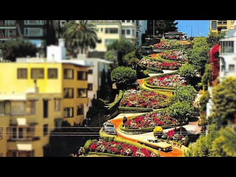 San Francisco, California: Lombard Street