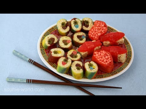 How to Make Candy Sushi | Sophie's World