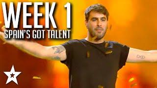 Spain's Got Talent 2021 AUDITIONS | WEEK 1 | Got Talent Global