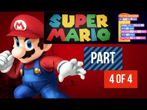 How to make mario in scratch (4 of 4): Star power upgrade