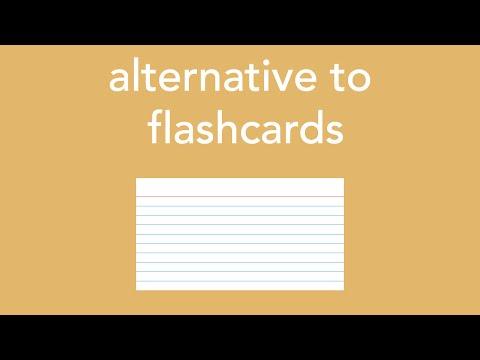 alternative to flashcards