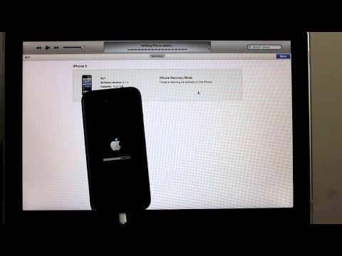 How to restore iPhone 5 / Forgot password / Factory Reset - Step by Step