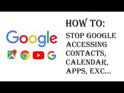 How To Stop Google From Accessing Your Contacts, Calendars, Apps, and Other Device Data