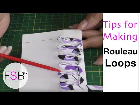 Rouleau Loops Tips and Advice