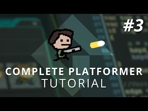 GameMaker Studio 2: Complete Platformer Tutorial (Part 3: Shooting & Recoil)