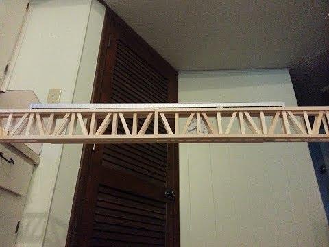 How to make the Popsicle Railroad Bridge - Part 1