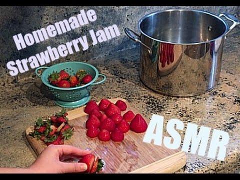 ASMR Cooking - Strawberry Jam