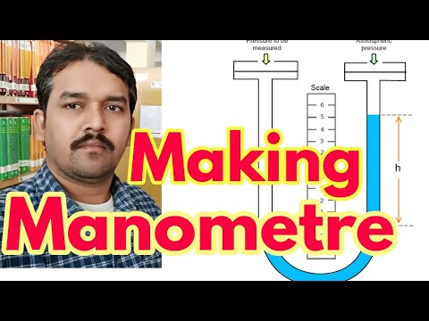 How to make Manometer and use it
