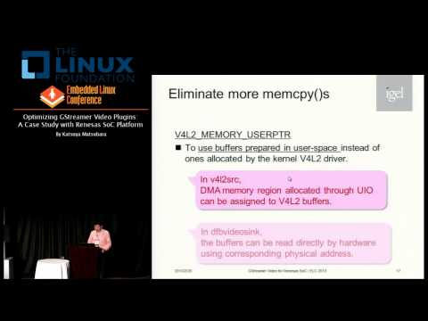 Embedded Linux Conference 2013 - Optimizing GStreamer Video Plugins