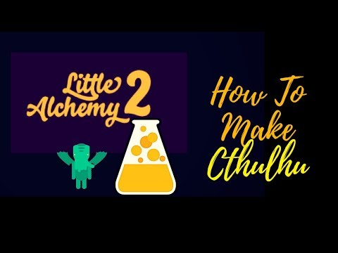 Little Alchemy 2-Myths and Monsters-How To Make Cthulhu Cheats & Hints